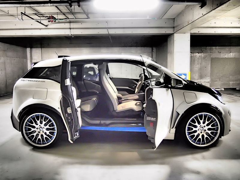 BMW i3 Evo тюнинг Garage Eve.ryn