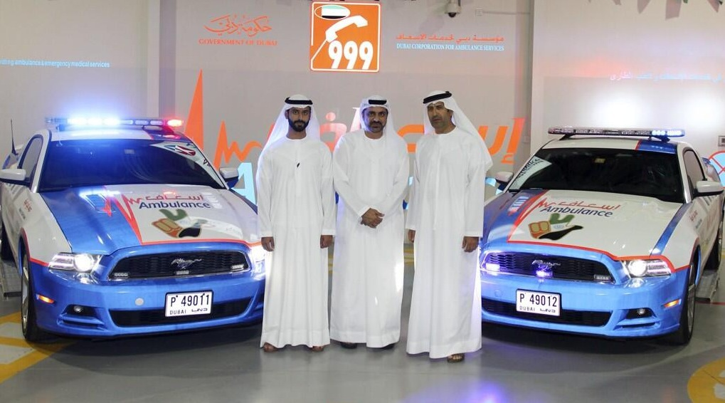 Dubai's Ford Mustang Ambulance