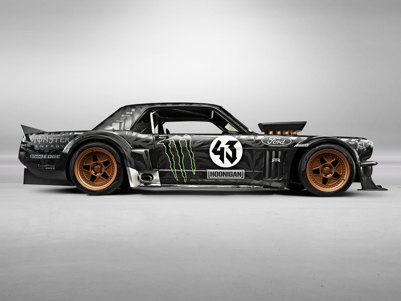 Ken Block&s 1965 Ford Mustang Hoonicorn RTR