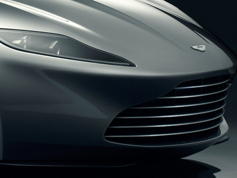 James Bond&s Aston Martin DB10
