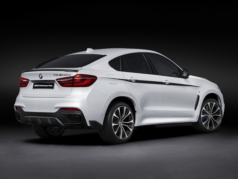 BMW X6 M Performance Parts