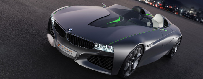 BMW Vision concept Женева