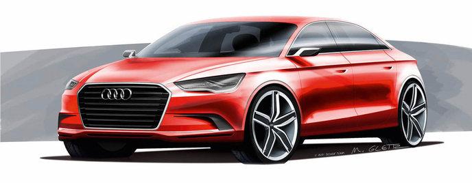 Audi A3 Concept Женева 2011