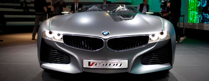 BMW Vision concept Женева 2011