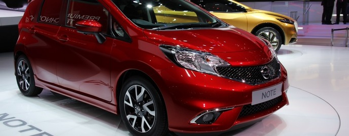 2013 Nissan Note Женева