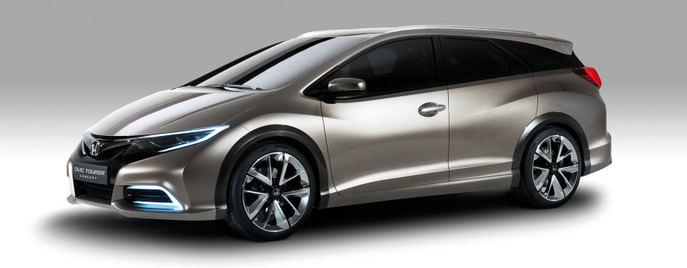 Honda Civic Tourer wagon concept