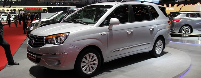 SsangYong Rodius женева