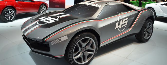 Italdesign Parcour concept Женева