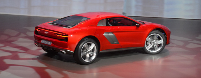 Audi nanuk quattro concept Франкфурт