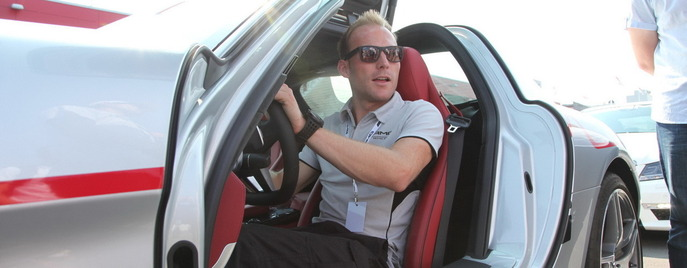 AMG Driving Academy Moscow Raceway SLS