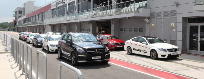 AMG Driving Academy Moscow Raceway