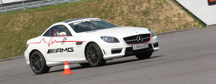 AMG Driving Academy Moscow Raceway SLK