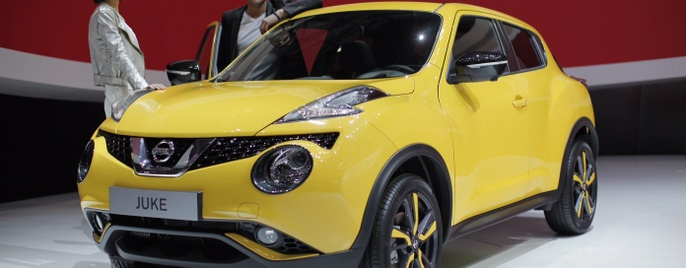 Nissan Juke Женева