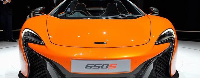 McLaren 650S Spider Женева