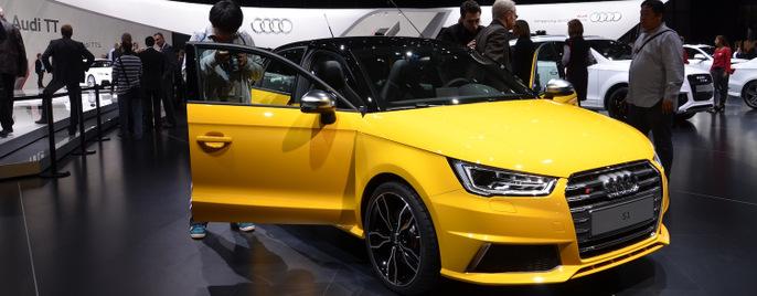 Audi S1 quattro Женева
