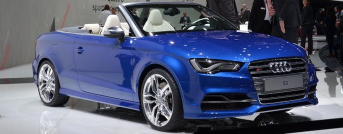 Audi S3 cabrio Женева