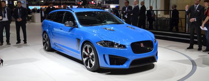 Jaguar XFR-S Sportbrake женева