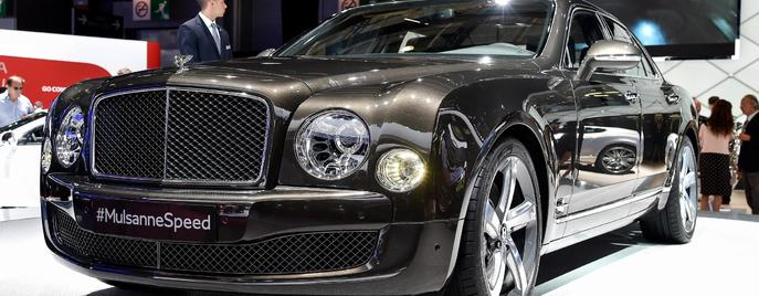 Bentley Mulsanne Speed Париж