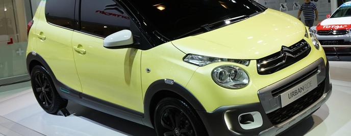 Citroen C1 Urban Ride Concept Париж