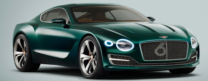 Bentley EXP 10 Speed 6 concept Женева