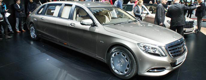 Mercedes-Maybach S600 Pullman Женева