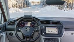 В VW придумали, как очистить лобовое стекло от снега и льда