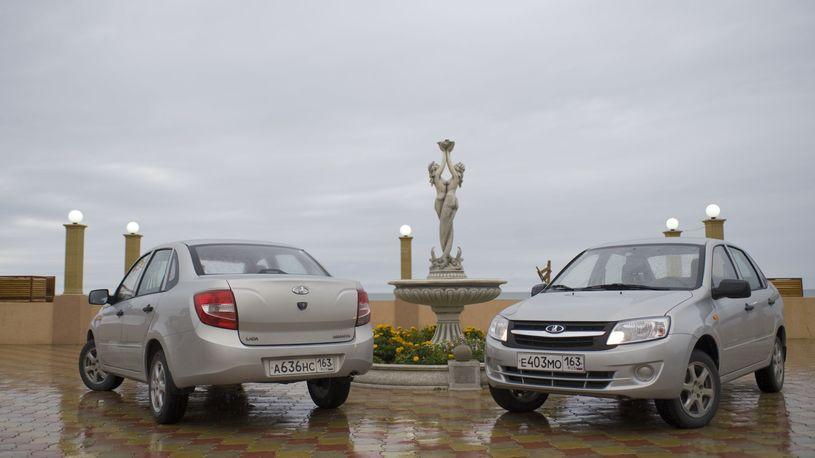 Все самые продаваемые автомобили в России - отечественного производства