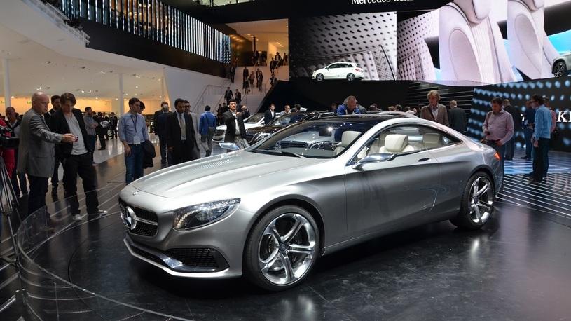 Купе Mercedes S-класса запустят в серию в 2014 году