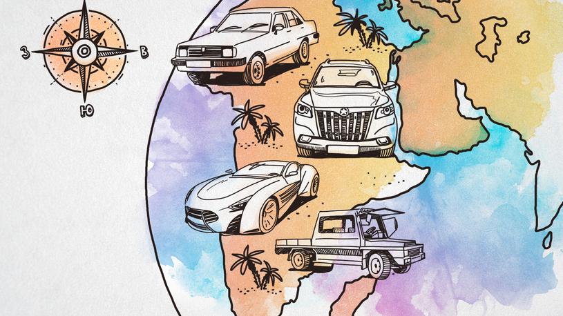 Хит-парад: Хорошая попытка, Африка, или необычные машины Черного континента