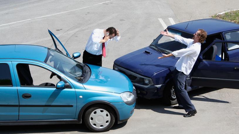 В Москве все чаще оформляют аварии по европротоколу