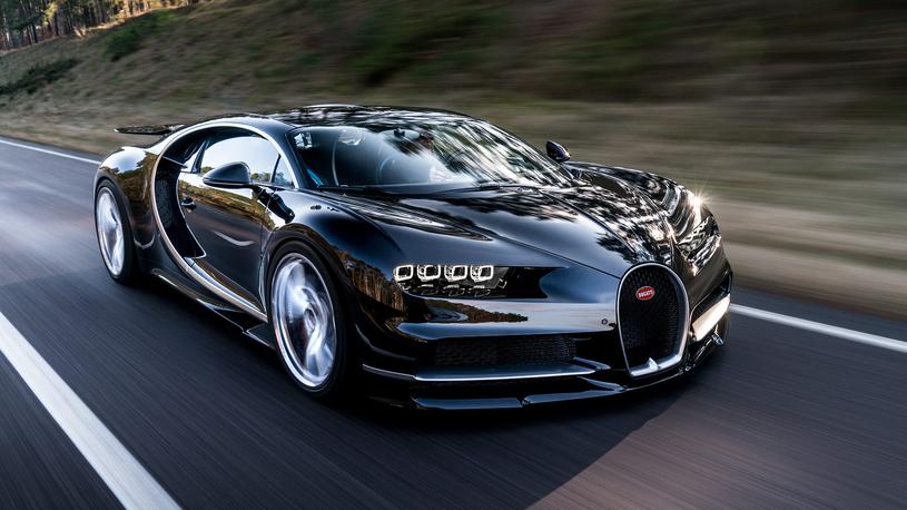 В России нашелся первый покупатель на сверхдорогой Bugatti Chiron
