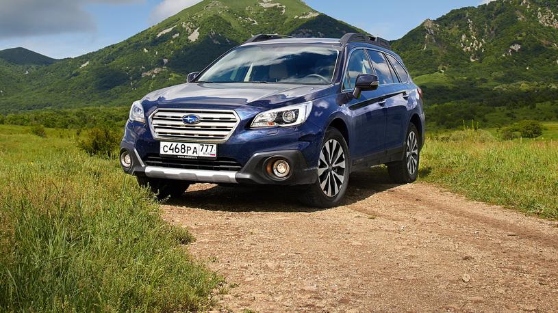 Тест-драйв Subaru Outback 3,6R-S: первые впечатления