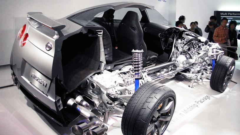 Посчитали-прослезились: новая коробка передач Nissan GT-R