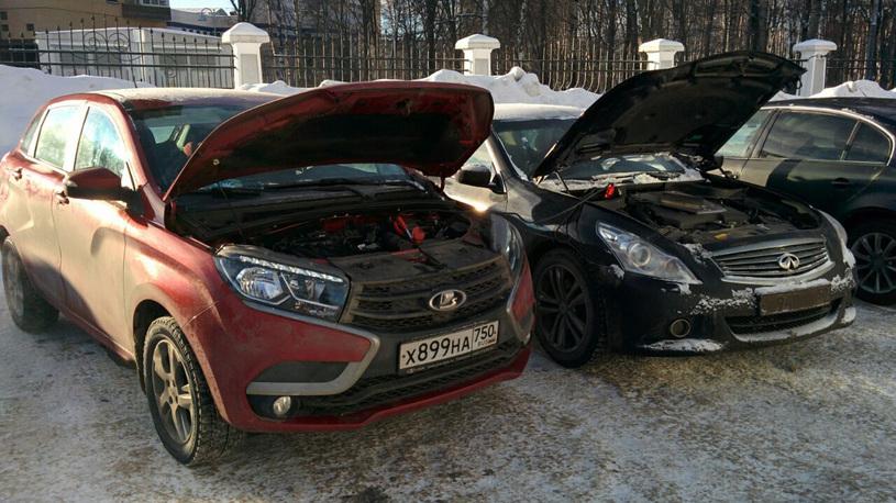 Дневник Lada Xray: заведется ли в мороз?