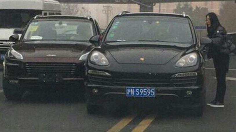 В Китае на Porsche