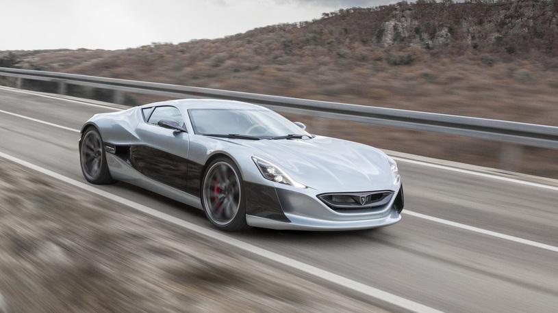 Хорватский электрокар сравнялся по динамике разгона с Bugatti