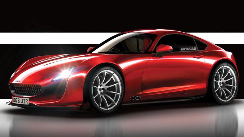 Возрожденная марка TVR рассекретила свой новейший спорткар