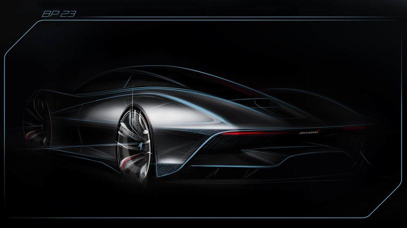 Гиперкар McLaren будет самым обтекаемым автомобилем в истории марки