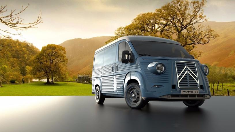 Citroen Jumper превратили в культовый фургон из 40-х годов