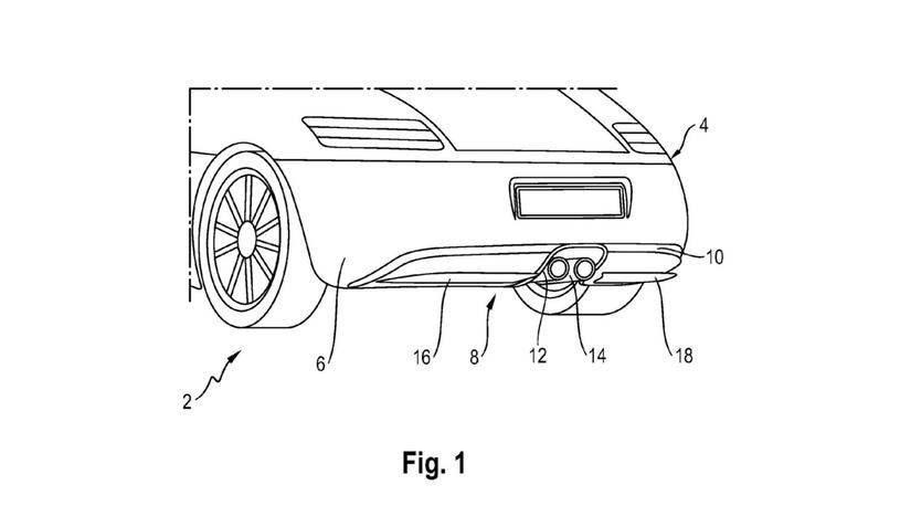 Porsche научит задние бамперы своих спорткаров шевелиться