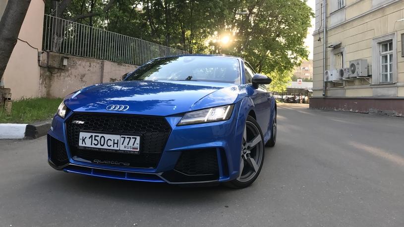 Тест-драйв Audi TT RS: 3,7 секунды до 100 км/ч