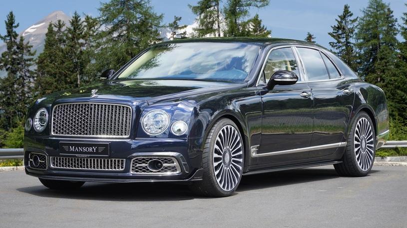 Одиозное ателье Mansory поработало над самым дорогим Bentley