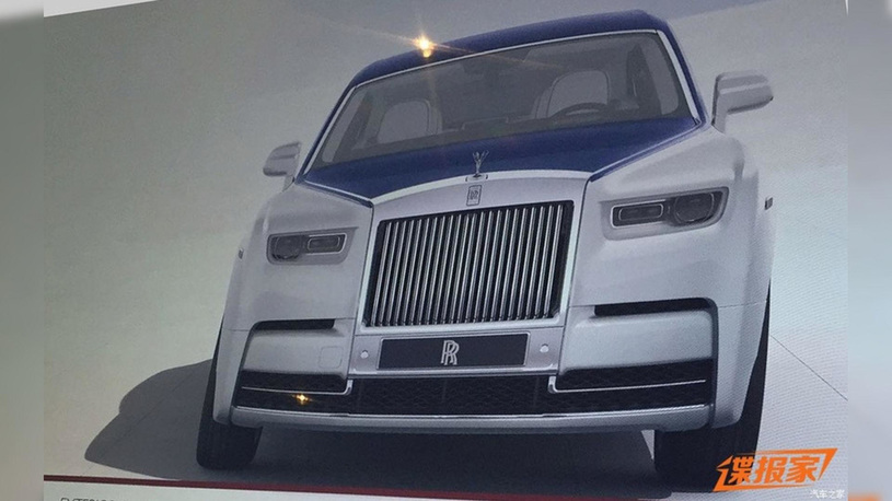 Рассекречен дизайн нового Rolls-Royce Phantom