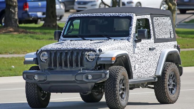 Рассекречен очередной кусочек нового Jeep Wrangler