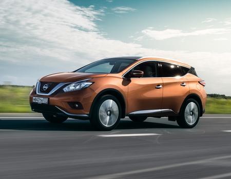 Продажи Nissan Murano в России