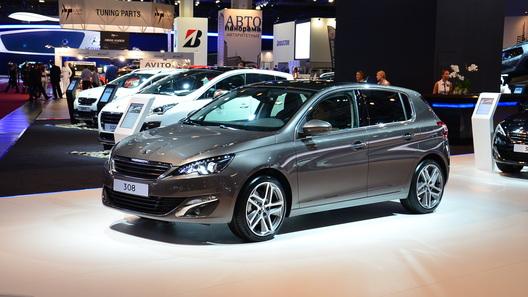 Цены на новый Peugeot 308 начнутся с 779 000 рублей