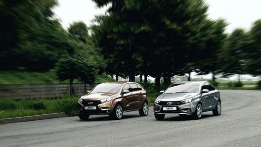 Серийные Lada Vesta и XRay получат внешность, как у концептов