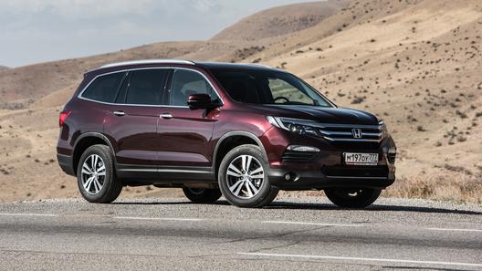 В России начали продавать обновленный Honda Pilot