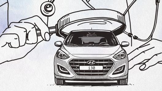 Кафедра детских болезней: Hyundai i30