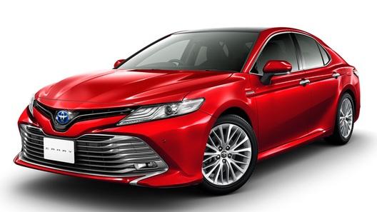 В Японии представили новое поколение Toyota Camry